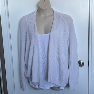 OLD NAVY | 2X | Linen Heavy Cable Open Car…